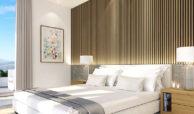 santa barbara heights mijas costa strand zeezicht resort concierge nieuwbouw te koop gastenkamer