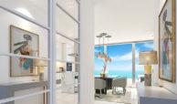 santa barbara heights mijas costa strand zeezicht resort concierge nieuwbouw te koop hal