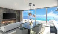 santa barbara heights mijas costa strand zeezicht resort concierge nieuwbouw te koop living