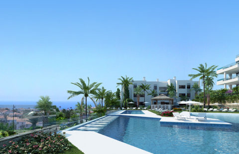 Santa Barbara Heights: luxe resort project vlakbij het strand (Mijas Costa)