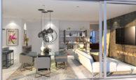 santa barbara heights mijas costa strand zeezicht resort concierge nieuwbouw te koop open plan