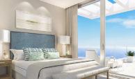 santa barbara heights mijas costa strand zeezicht resort concierge nieuwbouw te koop slaapkamer