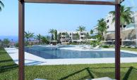 santa barbara heights mijas costa strand zeezicht resort concierge nieuwbouw te koop zwembad