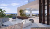 velvet cancelada villa te koop modern zeezicht nieuwbouw estepona new golden mile marbella dakterras