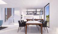 velvet cancelada villa te koop modern zeezicht nieuwbouw estepona new golden mile marbella eethoek
