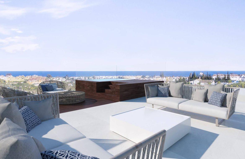 velvet cancelada villa te koop modern zeezicht nieuwbouw estepona new golden mile marbella jacuzzi