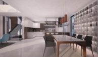velvet cancelada villa te koop modern zeezicht nieuwbouw estepona new golden mile marbella keuken