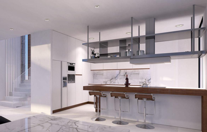 velvet cancelada villa te koop modern zeezicht nieuwbouw estepona new golden mile marbella keukeneiland