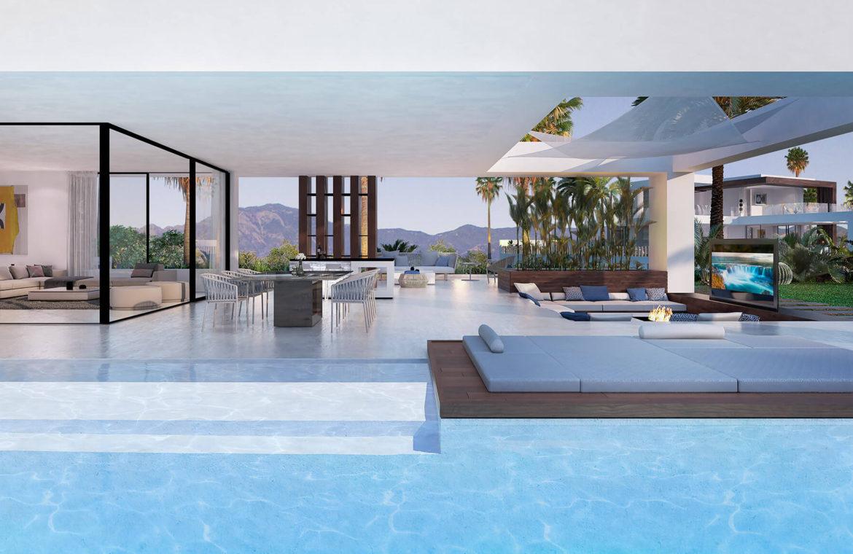velvet cancelada villa te koop modern zeezicht nieuwbouw estepona new golden mile marbella terras