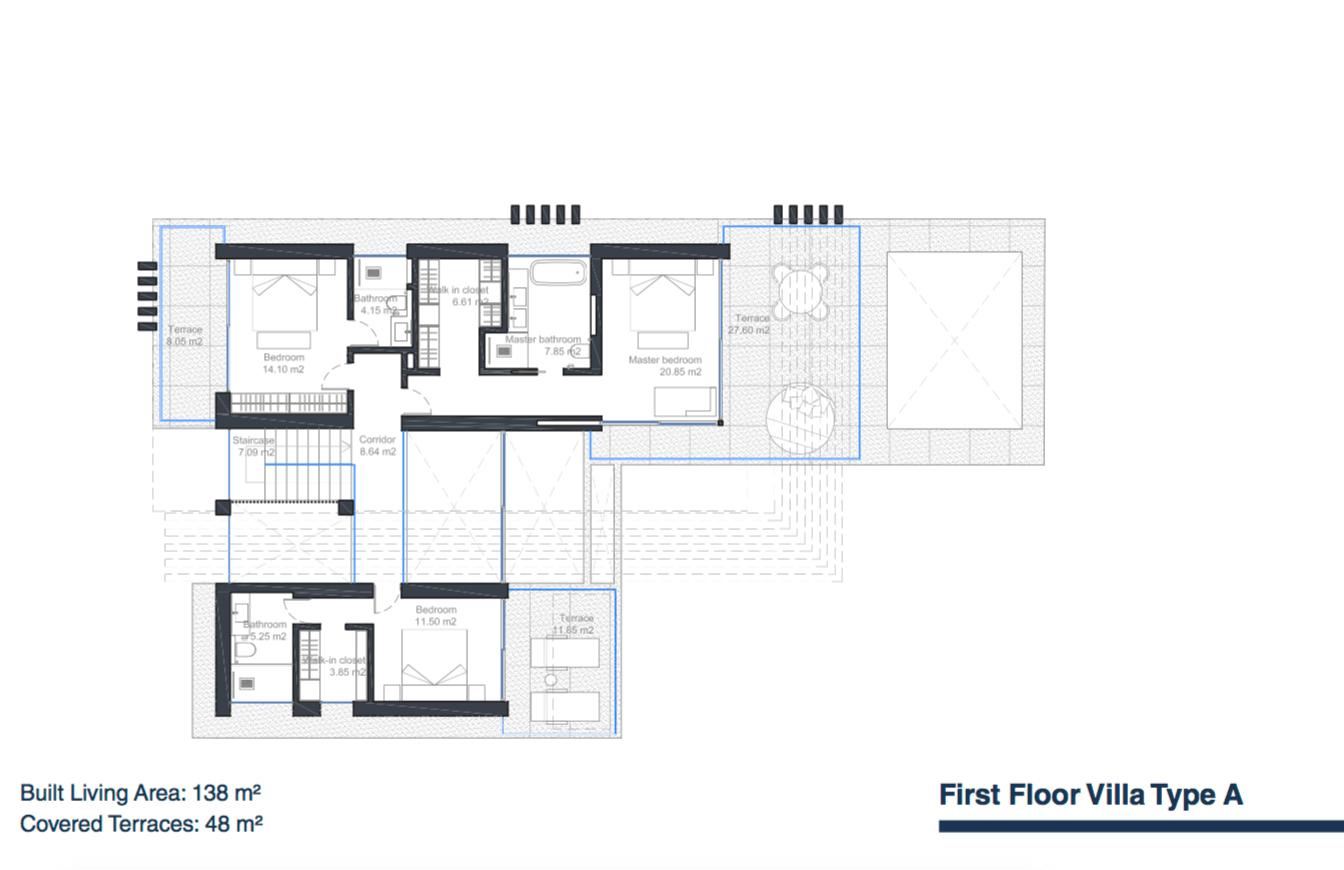 velvet villa te koop modern nieuwbouw cancelada estepona new golden mile marbella type a grondplan verdieping