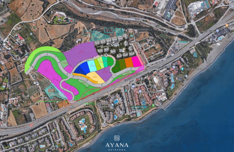 ayana estepona new golden mile resort nieuwbouw modern appartement penthouse te koop wandelafstand zee masterplan
