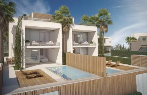 Blue Sky Riviera: geschakelde woningen vlakbij het strand (Riviera del Sol)
