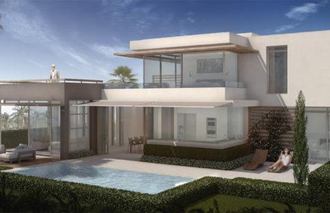 Blue Sky Riviera: Sky Plus villa's vlakbij het strand (Riviera del Sol)