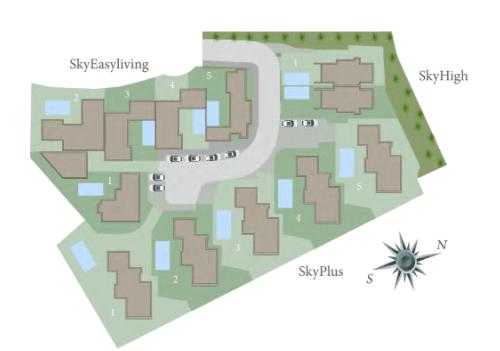 blue sky villas sky plus villa riviera del sol nieuwbouw luxe te koop plan