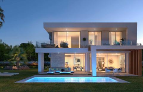 Icon Marbella: moderne villa's aan Santa Clara Golf Resort (Los Monteros)
