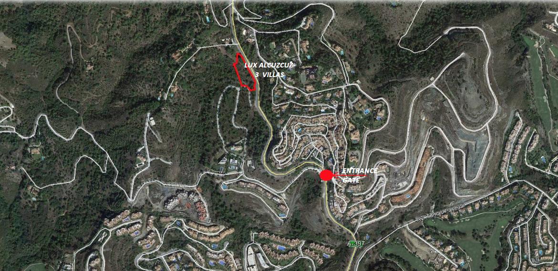 lux alcuzcuz benahavis la reserva moderne nieuwbouw villa te koop zeezicht privacy nieuw design zwembad ligging