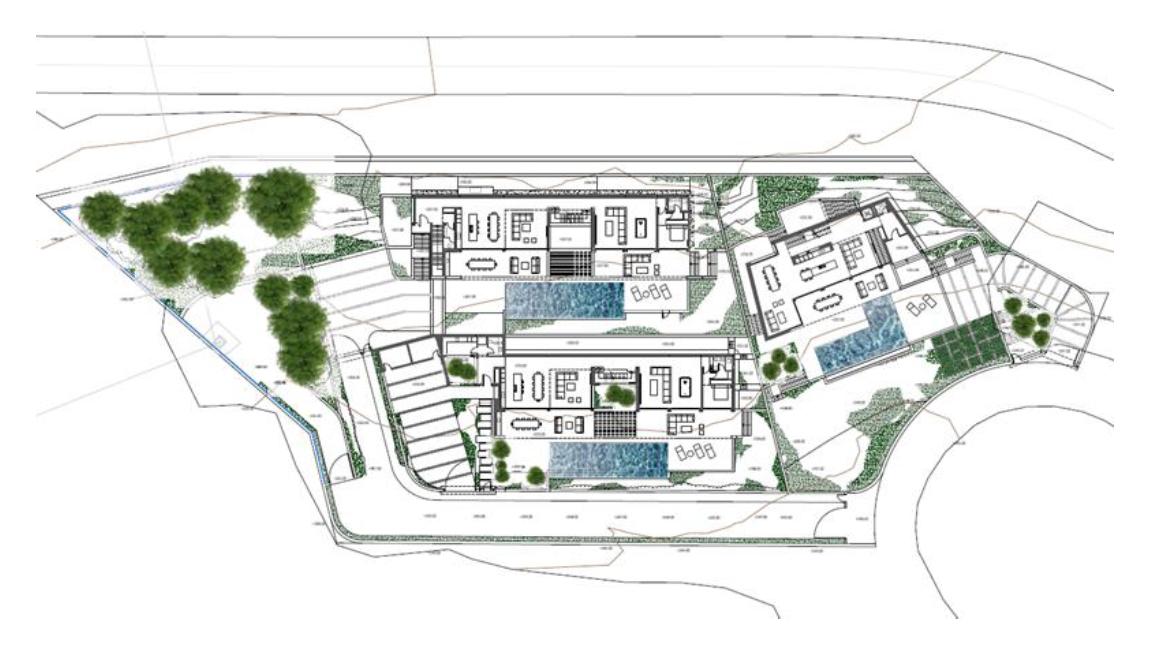 lux alcuzcuz benahavis la reserva moderne nieuwbouw villa te koop zeezicht privacy nieuw design zwembad masterplan