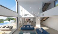 lux alcuzcuz benahavis la reserva moderne nieuwbouw villa te koop zeezicht privacy nieuw design zwembad sensations salon