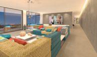 lux alcuzcuz benahavis la reserva moderne nieuwbouw villa te koop zeezicht privacy nieuw design zwembad serenity elegance living