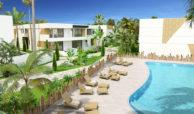 marein village nvoga geschakelde woning te koop townhouse nueva andalucia nieuwbouw puerto banus gemeenschappelijk zwembad