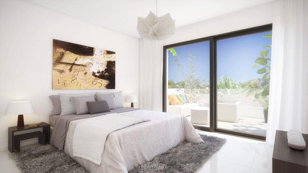 marein village nvoga geschakelde woning te koop townhouse nueva andalucia nieuwbouw puerto banus slaapkamer