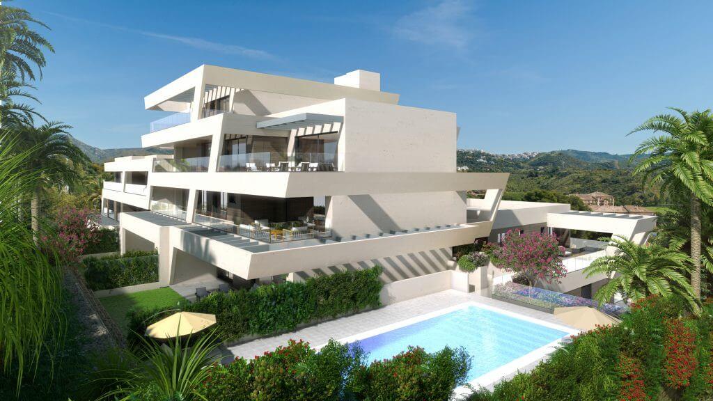 orion rio real nvoga appartement penthouse kopen marbella zeezicht nieuwbouw zwembad