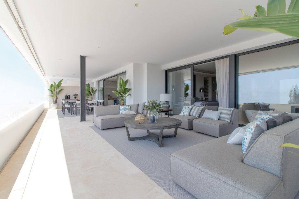 senorio de vasari marbella golden mile exclusief appartement penthouse kopen nieuwbouw modern design ruim terras