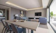 senorio de vasari marbella golden mile exclusief appartement penthouse kopen nieuwbouw modern design salon