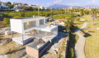 the sanctuary villas el campanario new golden mile estepona nieuwbouw te koop vrijstaand huis constructie