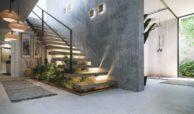 the sanctuary villas el campanario new golden mile estepona nieuwbouw te koop vrijstaand huis entree