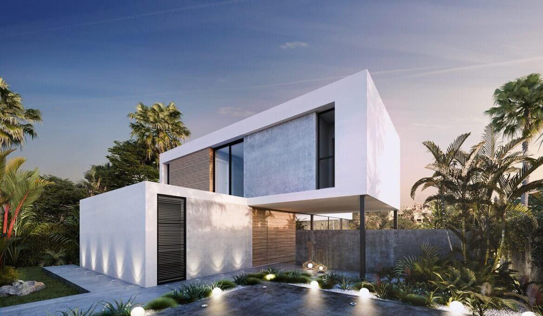 the sanctuary villas el campanario new golden mile estepona nieuwbouw te koop vrijstaand huis modern