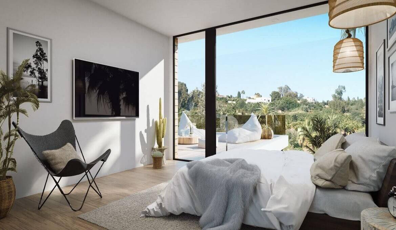 the sanctuary villas el campanario new golden mile estepona nieuwbouw te koop vrijstaand huis slaapkamer