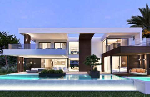 Villamar: kleinschalig nieuwbouw villaproject met zeezicht (Cancelada)
