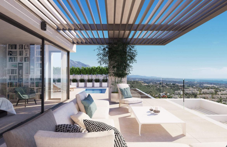 aqualina residences collection benahavis marbella costa del sol appartement penthouse te koop bergzicht