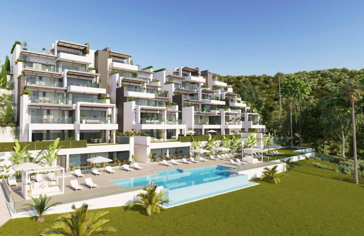 aqualina residences collection benahavis marbella costa del sol appartement penthouse te koop luxe complex