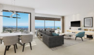 aqualina residences collection benahavis marbella costa del sol appartement penthouse te koop open plan