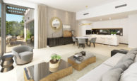 aqualina residences collection benahavis marbella costa del sol appartement penthouse te koop salon