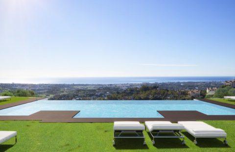 Byu Hills: luxueuze penthouses met adembenemende zichten (Benahavis)