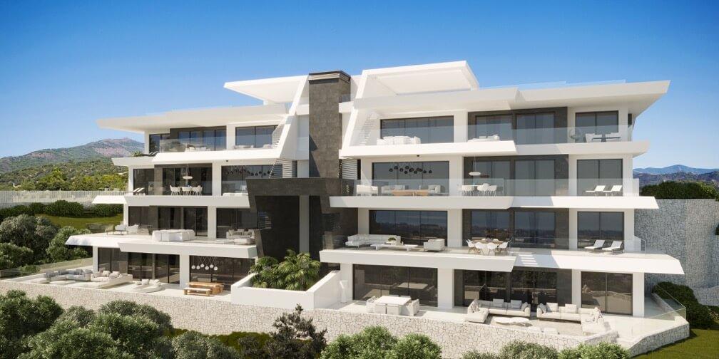 byu hills benahavis luxe appartement te koop modern