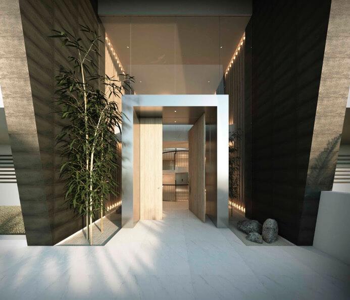 byu hills benahavis marbella luxe kleinschalig project appartement penthouse kopen zeezicht entree