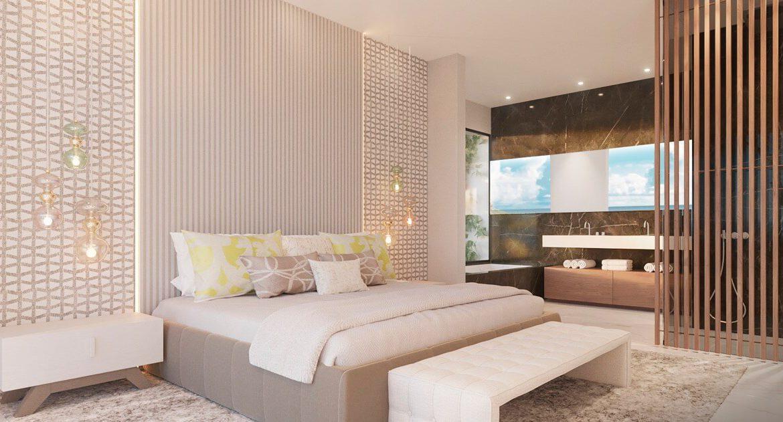 byu hills benahavis marbella luxe kleinschalig project appartement penthouse kopen zeezicht slaapkamer