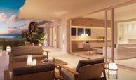 byu hills benahavis marbella luxe kleinschalig project appartement penthouse kopen zeezicht terras