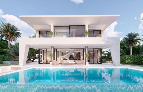 Don Amaro: 17 villa's met zeezicht op wandelafstand strand (La Duquesa)