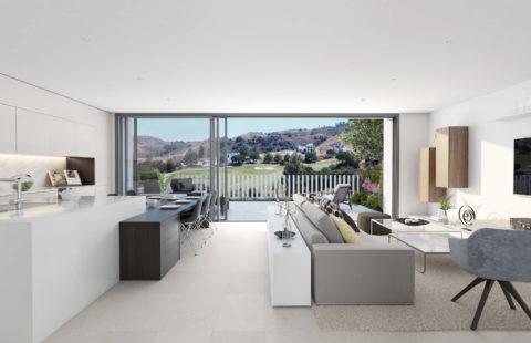 Lar Infinity: moderne woningen met tuin- en golfzicht (La Cala Golf - Mijas)