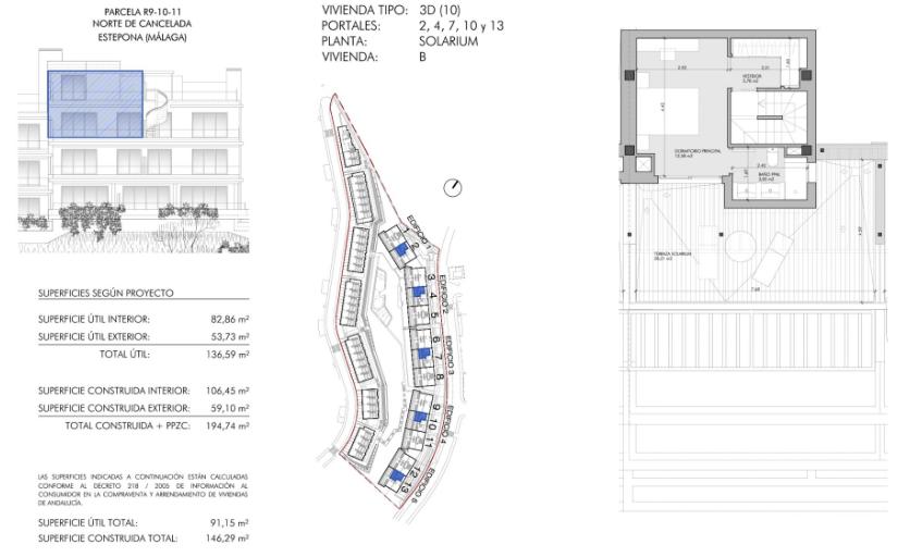 oceana views cancelada new golden mile marbella grondplan duplex 3 slaapkamers