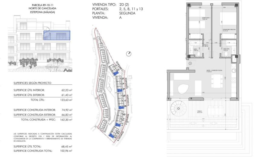 oceana views cancelada new golden mile marbella grondplan verdieping 2 slaapkamers