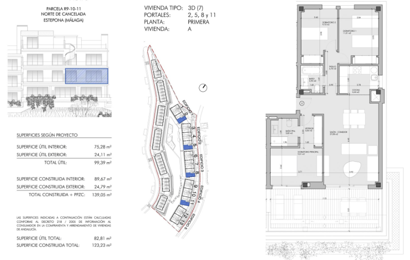 oceana views cancelada new golden mile marbella grondplan verdieping 3 slaapkamers
