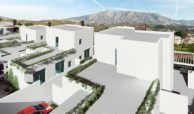 royal golf villas la cala hills mijas oost marbella nieuwbouw villa onder constructie te koop bergzicht