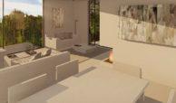 royal golf villas la cala hills mijas oost marbella nieuwbouw villa onder constructie te koop salon