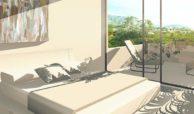 royal golf villas la cala hills mijas oost marbella nieuwbouw villa onder constructie te koop slaapkamer